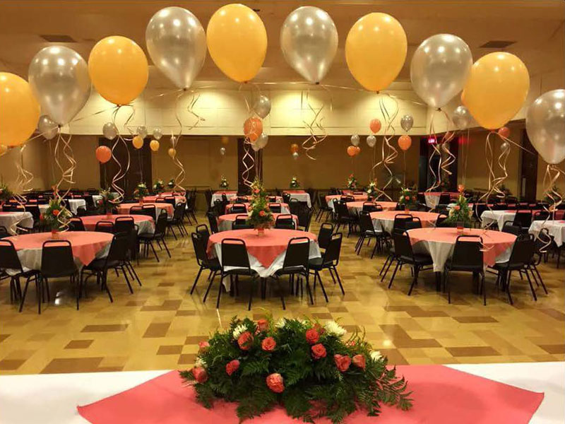 Balloon Show and Tables