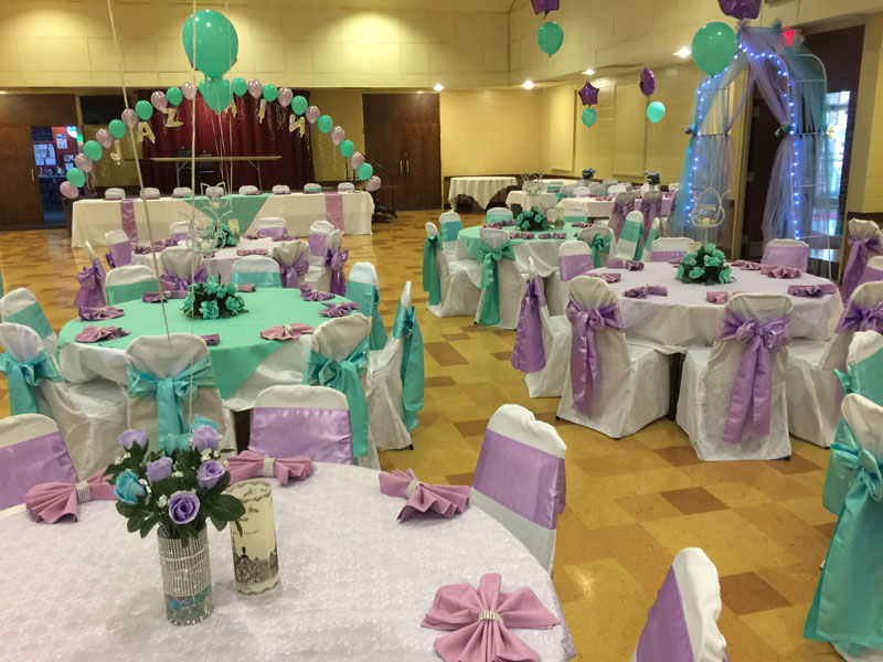 Pastel Color Banquet Theme