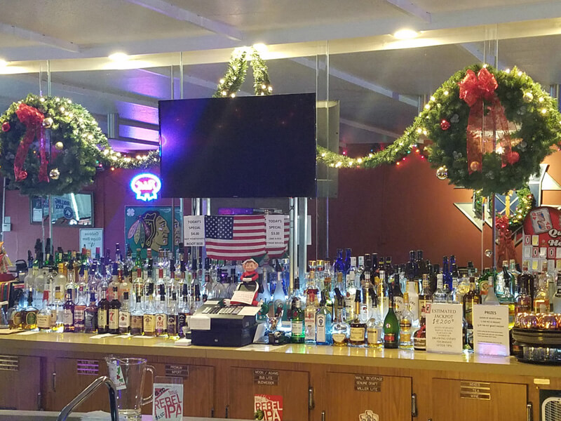 Christmas Themed Bar Selection
